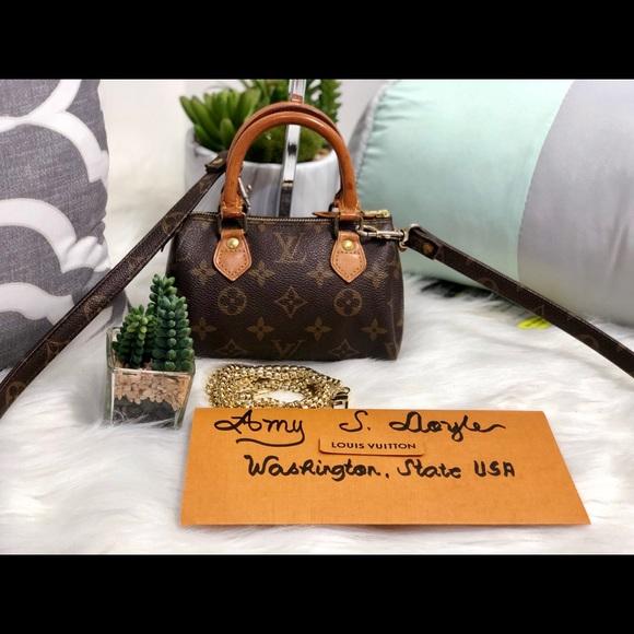 Louis Vuitton Handbags - 🔥Sold🔥Mini Speedy w/ Strap